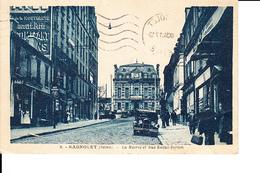 93 - Bagnolet - Mairie Et Rue Raoul Berton - 1934 - Bagnolet