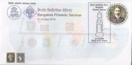 India 2018  RPSL  Philatelic  Seminar Bangalore Special Cover  #15841  D  Inde Indien - India