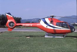 SLIDE / AVION / HELICOPTERE   EC 120B COLIBRI  3A-MBR - Diapositive