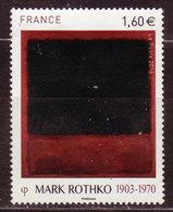 FRANCE - 2016 - YT N° 5030 - Oblitéré - Série Artistique - Mark Rotkho - France