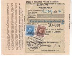 3317   PROVINCIA  DI    LUBIANA   POBOTNICA 1943 - Slovénie