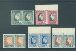 SOUTH AFRIKA - MNH/**. - 1937 - CORONATION - Yv 78-87 -  Lot 18416 - SEE SCANS BROWN TRACES - Afrique Du Sud (...-1961)