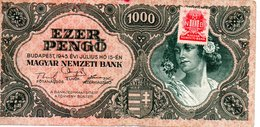 1000 PENGO   BUDAPEST 1945 - Hongrie