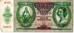 10 PENGO   BUDAPEST 1936 - Hongrie