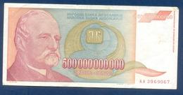 500000000000 Dinara Yugoslavia 1993 - Jugoslavia