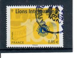 Yt 5152 Lions International - Cachet Rond - France