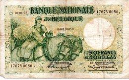 50 FRANCS  10-01-33 - 1909-1934: Albert I
