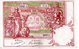 20 FRANCS  4 -12-1914 - Non Classés