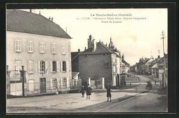 CPA Lure, Pensionnat Sainte Anne - Hopital Temporaire Route De Luxeuil - Lure