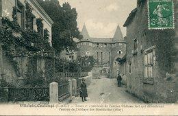 37 - VILLELOIN-COULANGE - Tours Et Pont-levis De L'ancien Château Fort… - Altri Comuni