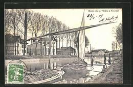 AK Yverdon, Bords De La Thiele - VD Vaud