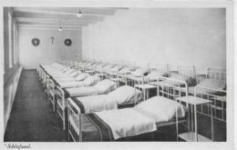 AK 0092  Wien - Österr. Bundesherberge ( Blattgasse 6 )Schlafsaal / Verlag Perscheid Um 1930-50 - Wien Mitte