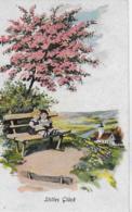 AK 0092  Stilles Glück - Kinder Unter Blühenden Baum / Künstlerkarte Um 1920-30 - Kinder