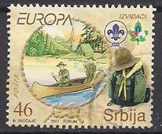 Serbien  (2007)  Mi.Nr.  195  Gest. / Used  (1ex25)  EUROPA - Serbien