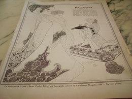 ANCIENNE PUBLICITE POUR VOTRE TOILETTE  CREME MALACEINE 1912 - Parfums & Beauté