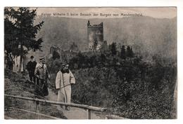 + 15 , Feldpost, Kaiser Wilhelm II. In Manderscheid - Guerra 1914-18
