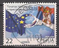 Serbien  (2014)  Mi.Nr.  538  Gest. / Used  (10ad14) - Serbien