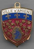 """"""" Ville D' Amiens """" - Messageries Maritimes -  Insigne émaillé Augis - Marine"""