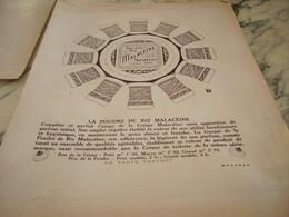 ANCIENNE PUBLICITE POUR VOTRE TOILETTE  CREME MALACEINE 1918 - Other
