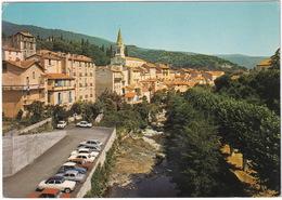 Amelie-les-Bains: SIMCA ARONDE, 1000, RENAULT DAUPHINE, 8,16, CITROËN 2CV, PEUGEOT 204, 403 - Vue Sur La Ville - Toerisme