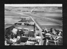 VENDEVILLE: L'EGLISE ST HUBERT VUE AERIENNE - France