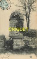 Dépt. 29, Environs De Pont L'Abbé, Manoir De Kerneizan, L'épreuve De Taille Pour Les Conscrits, Carte Pas Courante, 1905 - Pont L'Abbe