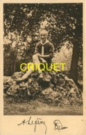 Scoutisme, André Lefevre, Commissaire National Des Eclaireurs De France,  Carte Dédicacée  Pas Courante - Scoutisme
