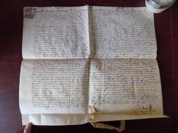 Lettre Très Ancienne Chièvres En 1602 D'une Vente Du Comte  De Berlaimont... - Vieux Papiers