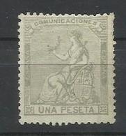 ESPAÑA EDIFIL  138  MH  *  ( FIRMADO SR. CAJAL, MIEMBRO DE IFSDA) - Nuevos