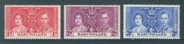 BASUTOLAND - MNH/**. - 1937 - CORONATION - Yv 15-17 -  Lot 18417 - Basutoland (1933-1966)