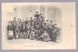 Cpa Du 04- BARCELONNETTE- Fanfare Municipale (édition Silve) - Barcelonnette