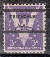 USA Precancel Vorausentwertung Preo, Locals Alabama, Birmngham L-4 E - Vereinigte Staaten