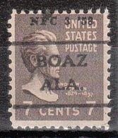 USA Precancel Vorausentwertung Preo, Locals Alabama, Boaz 716,5, Dated - Etats-Unis