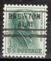 USA Precancel Vorausentwertung Preo, Locals Alabama, Brewton 729 - Vereinigte Staaten