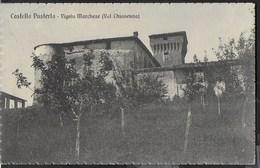 CASTELLO PUSTERLA - VIGOLO MARCHESE (PC) - FORMATO PICCOLO - VIAGGIATA DA GRAZZANO VISCONTI 09.09.1927 - Castelli