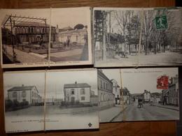 Lot De 1015 Cartes Postales De FRANCE (459 CPA - 93 Des Années 1950 Et 463 Des Années 1960 à 2000) - Postcards