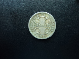 COLOMBIE : MONNAIE DE LÉPROSERIE : 2 CENTAVOS   1921 RH    KM L10     TB+ - Colombie