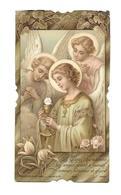 IMAGE PIEUSE..édit. Bouasse Lebel N 5471..Communion Luc MAITRE, Chapelle Ecole De Béthune à VERSAILLES (78) En 1910. - Devotieprenten
