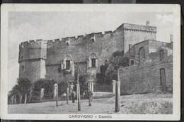 CASTELLO DI CAROVIGNO (BR) - FORMATO PICCOLO - VIAGGIATA DA CAROVIGNO 21.08.1934 - Castelli