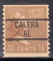 USA Precancel Vorausentwertung Preo, Locals Alabama, Calera 839 - Vereinigte Staaten