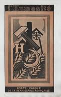 Publicité 1947 L'Humanité Porte Parole De La Renaissance Française - Publicités
