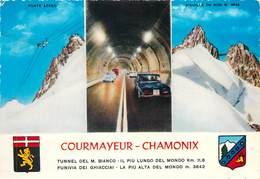 D1417 Courmayeur Chamonix Tunnel - Cartes Postales