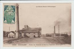 RONCHAMP - HAUTE SAONE - PUITS DU CHANOIS ET STATION CENTRALE ELECTRIQUE - France