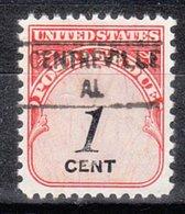 USA Precancel Vorausentwertung Preo, Locals Alabama, Centreville 841 - Etats-Unis