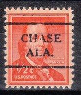 USA Precancel Vorausentwertung Preo, Locals Alabama, Chase 708 - Vereinigte Staaten