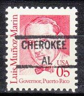 USA Precancel Vorausentwertung Preo, Locals Alabama, Cherokee 841 - Vereinigte Staaten