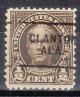 USA Precancel Vorausentwertung Preo, Locals Alabama, Clanton 653-703 - Vereinigte Staaten