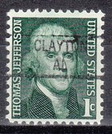 USA Precancel Vorausentwertung Preo, Locals Alabama, Clayton 841 - Etats-Unis