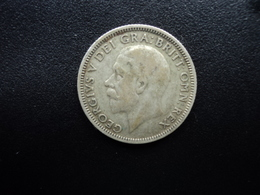 ROYAUME UNI : 1 SHILLING   1932   KM 833    TTB - 1902-1971 : Monnaies Post-Victoriennes