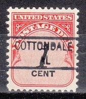 USA Precancel Vorausentwertung Preo, Locals Alabama, Cottondale 841 - Vereinigte Staaten